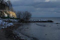 Östersjön Gdynia OrÅ 'owo arkivfoto