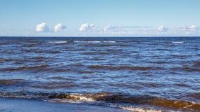 Östersjön i Lettland Royaltyfri Fotografi