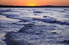 Östersjön i Polen Royaltyfri Fotografi