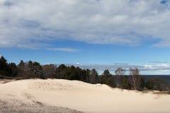 Östersjön kust Arkivbilder