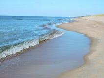 Östersjön kust Arkivfoto