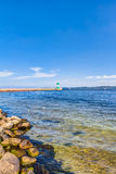 Östersjön kust Royaltyfria Foton