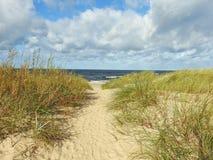 Östersjön landskapsikt royaltyfri foto