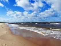 Östersjön landskapsikt fotografering för bildbyråer