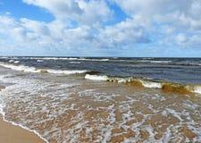 Östersjön landskapsikt royaltyfri bild