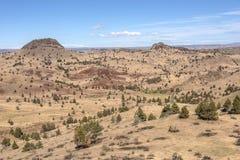 Östlich der Kaskadenberg-Oregon-Landschaft stockfoto