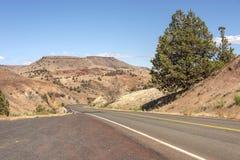 Östlich der Kaskadenberg-Oregon-Landschaft lizenzfreies stockfoto