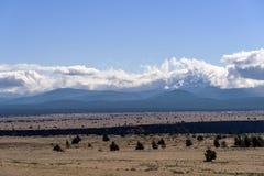Östlich der Kaskadenberg-Oregon-Landschaft lizenzfreies stockbild