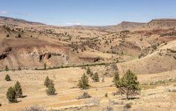 Östlich der Kaskadenberge Oregon stockfotos