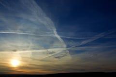 Östlich des Sun mit blauem Himmel lizenzfreie stockfotografie