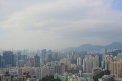 Östlich Kowloons an der Fluchtzinnansicht stockfoto