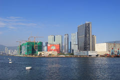 Östlich Kowloons von kwun Zange Stockfotos