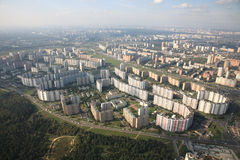 Östlich Moskaus stockbild