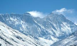 Östliche Wand des Mount Everests Lizenzfreies Stockfoto