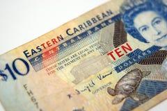Östliches carribean Geld Stockbild