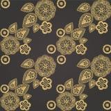 Östliches nahtloses Muster Stockbilder