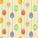 östlig äggwallpaper för bakgrund Arkivbild