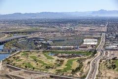 Golf & shopping royaltyfri foto