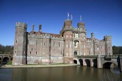 östlig england för slott herstmonceux sussex arkivbild