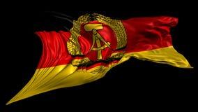 östlig flagga germany stock illustrationer