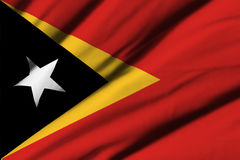 östlig flagga timor Royaltyfri Bild