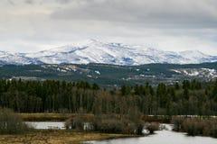 östlig glaciärnationalpark Royaltyfria Foton