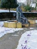ÖSTLIG GRINSTEAD, VÄSTRA SUSSEX/UK - FEBRUARI 27: McIndoe minnesmärke Fotografering för Bildbyråer