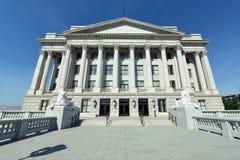 Östlig ingång för Utah statKapitolium Fotografering för Bildbyråer