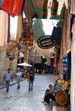 östlig israel jerusalem marknadsgata Royaltyfri Foto