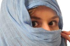 östlig kvinna Arkivfoto
