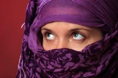 östlig kvinna för skönhet royaltyfri foto