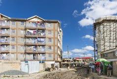 Östlig Nairobi bymitt, Kenya, ledare Arkivfoton