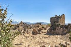 Östlig nekropol för sida arkivbild