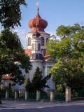 Östlig ortodox kyrka av John Teologist i Chelm i Polen arkivbilder