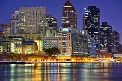 Östlig sida New York City för Upper Arkivfoto