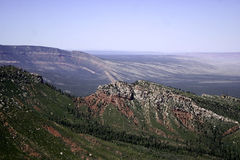 Östlig sikt från Grands Canyon norr kant Royaltyfri Fotografi
