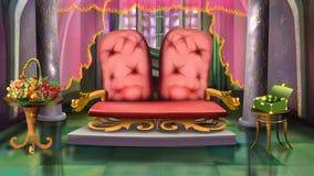 Östlig soffa Arkivfoto