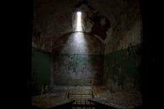 Östlig statlig straffanstaltcell Arkivfoto