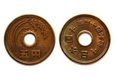 östlig stil för mynt Arkivfoto