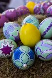 östliga ägg handpainted 2 Royaltyfria Bilder