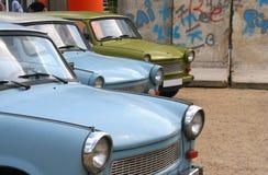 östliga bilar - tysk Royaltyfri Fotografi