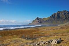 östliga fjords iceland arkivbilder