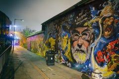 Östliga London grafitti Fotografering för Bildbyråer
