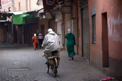 Östliga marknader i den gamla staden Royaltyfria Foton