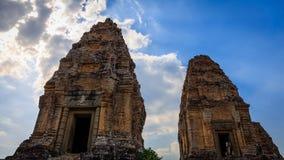 Östliga Mebon i Siem Reap Cambodja Arkivfoton