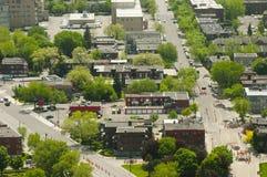 Östliga Montreal förorter Royaltyfri Fotografi
