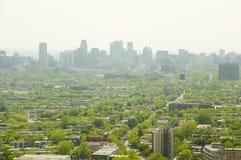 Östliga Montreal förorter Arkivfoto
