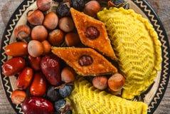 östliga sötsaker Arkivfoton