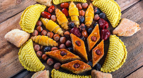 östliga sötsaker Arkivbild
