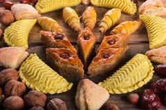 östliga sötsaker Fotografering för Bildbyråer